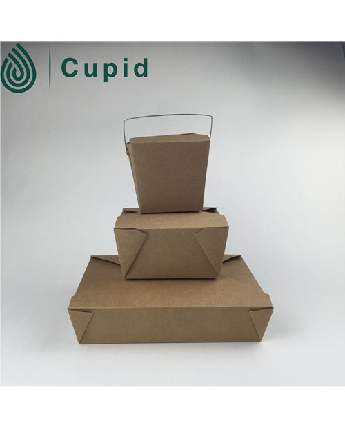 factory kraft fast food packaging box